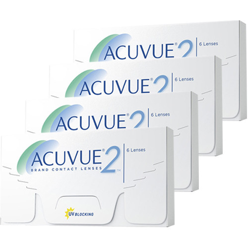 Combo 4 caixas Acuvue 2
