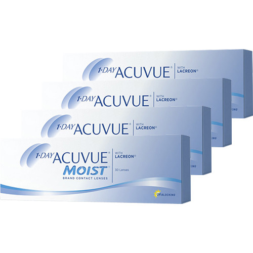 1 day Acuvue Moist Combo 4 caixas