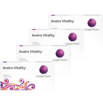 Avaira Vitality Combo 4 caixas