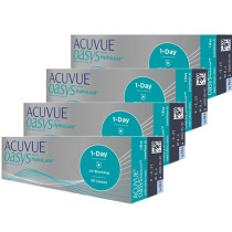 Combo 4 caixas Acuvue Oasys 1-Day com HydraLuxe
