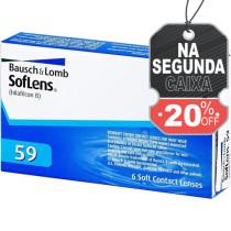 LENTE DE CONTATO SOFLENS 59