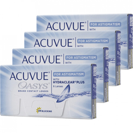Combo 4 caixas Acuvue Oasys Astigmatismo