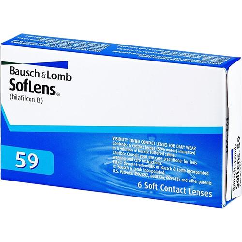 LENTE DE CONTATO SOFLENS 59 COMFORT