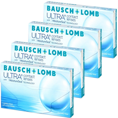 Bausch + Lomb Ultra with Moisture Seal Combo 4 caixas