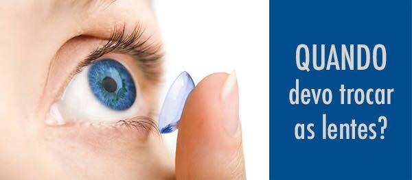 5 sinais de que você precisa trocar suas lentes